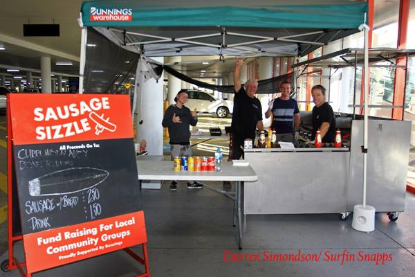 Bunnings Sausage Sizzle Fundraiser