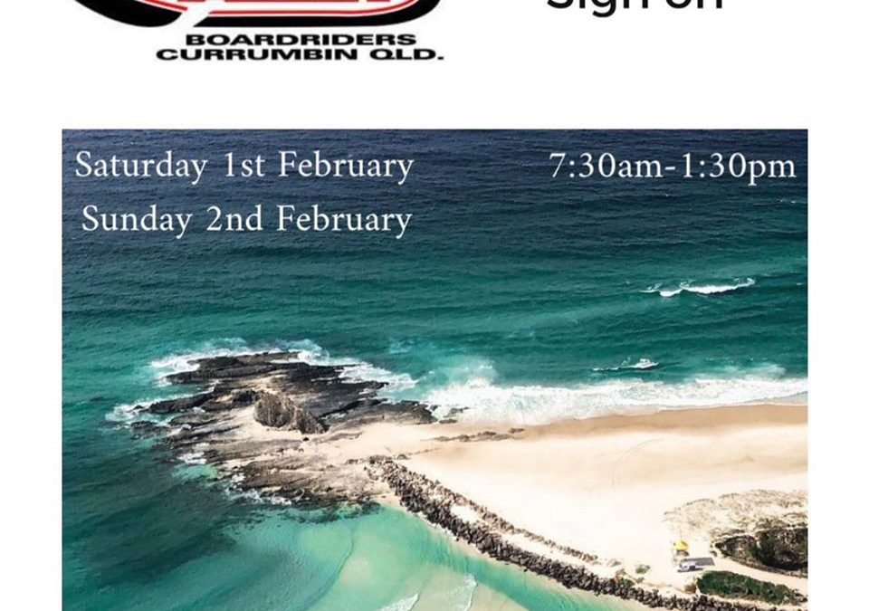 2020 Alley Boardriders Sign-On day