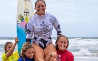 Our Own Jade Wheatley claims Open Shortboard Titles At 2020 QLD Surf Festival!