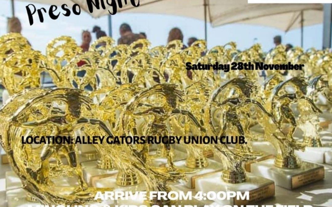 2020 Presentation Night November 28th